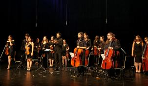 Şef İbrahim Yazıcı,  Gençlik Senfoni Orkestrasını İzledi