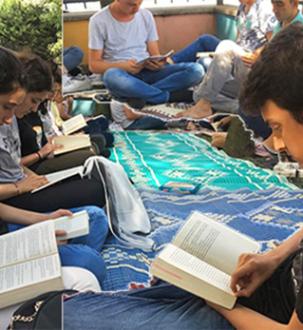 Gençlerden Kitap Okuma Seferberliği