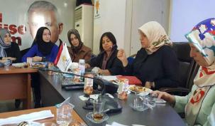 AK Parti'li kadınlar harekete geçti