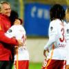 Galatasaray'da tarihe geçen görüntü