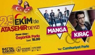 Ataşehir'de Cumhuriyet Bayramı hazırlığı