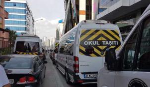 """Ataşehir'de """"servis"""" magandalığı"""