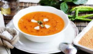 Gribi tarhana çorbası ile yenin