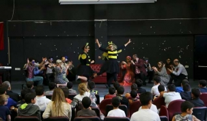Belediye tiyatrosu çocuk yuvasında