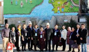 Kırgızlar bu sokağa hayran kaldı