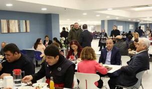 Belediye yeni yemekhanesine kavuştu