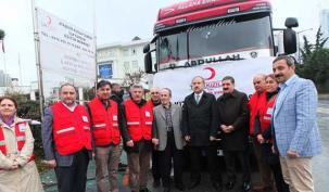 Ataşehir Kızılay'dan Halep'e yardım