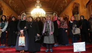 Beylerbeyi Sarayı'nda İstanbul dersi