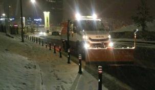 Ümraniye Belediyesi'nden kar seferberliği