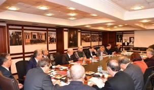 Başkanlar 'hayır' için toplandı