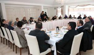 'Gazeteciler Günü'nde gazeteciler ağırlandı