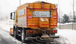 Bağcılar'da buzlanma seferberliği