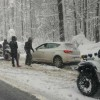 Motorize Zabıta Ekibi de kar nöbetinde