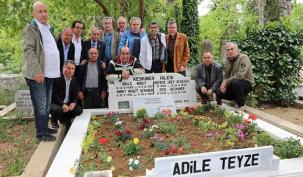 Ataşehir Belediyesi Adile Naşit'i, unutmadı