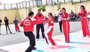 Ataşehir'de nefesleri kesen kutlama