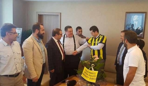Orhan Çerkez'e sürpriz ziyaret!