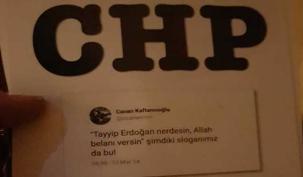 Ataşehir'de olay bildiri