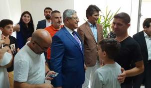 Ataşehir'de bayramlaşma heyecanı