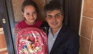 Özcan'dan öğrencilere sürpriz