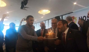 AYGAD'tan Ahmet Işık'a sürpriz