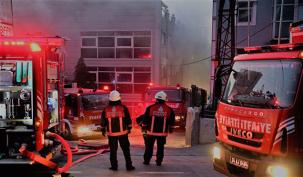Ataşehir'de Korkutan Yangın!!!!