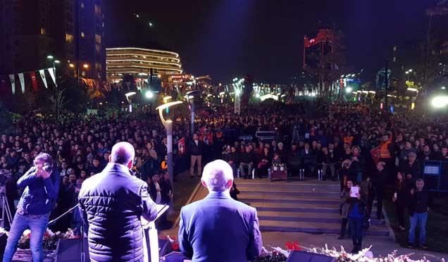 Ataşehir'de Cumhuriyet kutlaması! Galerisi