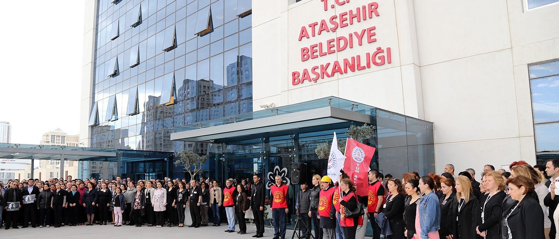 Ataşehir Belediyesi'nde arbede