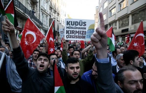 Ataşehir'de protesto hazırlığı