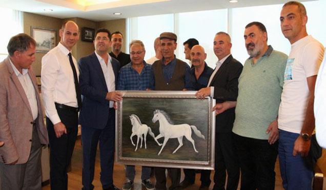 Ataşehir Amatör Kulüplerden Teşekkür Ziyareti…